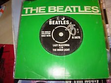 "BEATLES lady madonna / inner light ( rock ) 7"" / 45 - uk -"