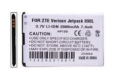 Battery for Verizon Wireless ZTE Jetpack 4G LTE Mobile Hotspot 890L 2000mAh