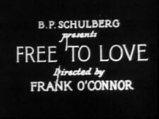 FREE TO LOVE (DVD) - 1925 - Clara Bow, Donald Keith