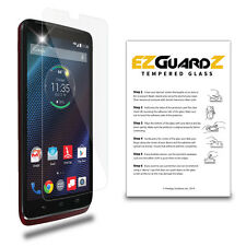 EZguardz Premium Tempered Glass Screen Protector Shield For Motorola Droid Turbo