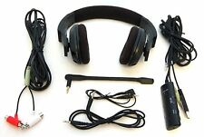 Rocketfish RF-GUV1201 ps3 XBox 360 PC Gaming Wired Headset Microphone 3D Sound A