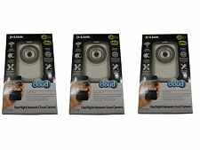 3-Pack D-Link Wireless Day/Night Cloud Network Camera w/ Remote Viewing DCS-932L