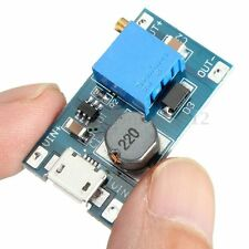 2A DC-DC boost step-up Conversion module MicroUSB 2-24V to 5v-28V 12v 9v 24v