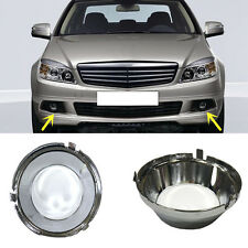 For Mercedes-Benz C class W204/C63/AMG Front Bumper Fog Light Grille Cover Trims