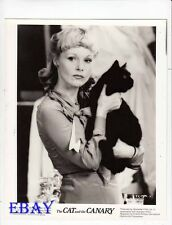 Carol Lynley w/pussy cat VINTAGE Photo The Cat And The Canary