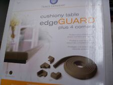 Table Edge Guard Plus 4 Corners by Prince Lionheart, Brown, New in Box