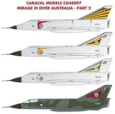 Caracal 1/48 Mirage III Over Australia - Part 2 # 48097