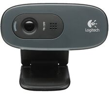 Logitech HD Webcam C270 USB Web Camera with Mic, 100% Genuine Product