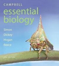 Campbell Essential Biology 6th ed. by  Simon, Dickey, Hogan, Reece.  BRAND NEW