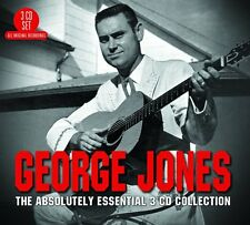 George Jones ABSOLUTELY ESSENTIAL COLLECTION Best Of 60 Songs NEW SEALED 3 CD