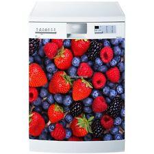 Magnet lave vaisselle Fruits rouges 60x60cm réf 5501 5501
