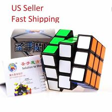 Legeny Cube 3x3x3 Speed Puzzle ABS Rubik's Magic Smooth Professional Twist Black