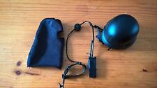 1/6th NEW Dragon Modern Black Balaclava, Tactical helmet and Radio