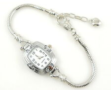 1pcs Charm Watch Bracelet Fits European Beads 20cm WP10