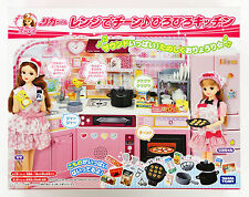 Takara Tomy Licca Doll Cooking At Home Kitchen  doll not included  (860389)