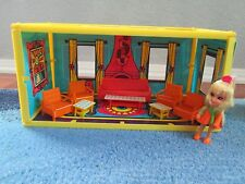Rare Vintage Liddle Kiddles Pretty Parlor Playhouse Doll Living Room Little Set