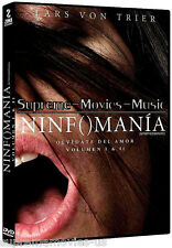 NEW - Ninfomania ( Nymphomaniac Vol 1 & 2 ) DVD 2 Disc Set  BRAND NEW