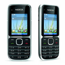 Nokia C2-01 Unlocked GSM Mobile Phone with 3.2 MP Camera Bluetooth Music Player