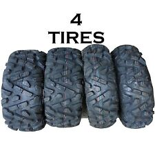 SET OF 4 ATV TIRES 27-9-14 FRONT 27-11-14 REAR 2 OF EACH P350 6ply like bighorn