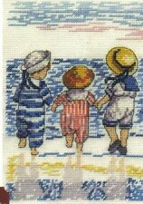 All Our Yesterdays Fun By The Sea Cross Stitch Kit - Ltd Edn with Free Booklet