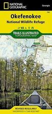 Okefenokee National Wildlife Refuge (National Geographic Trails Illustrated Map)