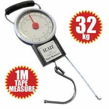 32KG TRAVEL SUITCASE LUGGAGE SCALE WITH 1M TAPE MEASURE