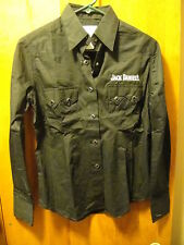 JACK DANIELS ~ Rockmount Ranch Wear ~ NWT ~ Women's L/SLV Snap Button Up Shirt