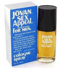 JOVAN SEX APPEAL by COTY Cologne 3.0 oz Tester