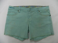 Billabong Denim Green Short Sz 5 Retail Price $44.95