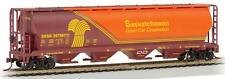 NEW Bachmann Cylindrical Grain Hopper Saskatchewan HO 19140