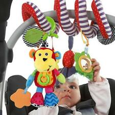 Baby Kid Plush Cartoon Toys Teether Bed Stroller Hanging Bell Rattle Musical Toy