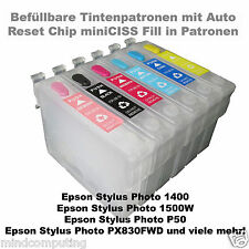 Refill set Epson stylus photo t0797 non OEM incl. 600ml vivid pigment Ink