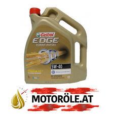 5 Liter Castrol EDGE FST TITANIUM Turbo Diesel 5W-40 Motoröl 5W40 VW FORD BMW