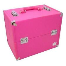 Caboodles Large Soulmate Make up Cosmetic Storage Train Case Pink Organizer New