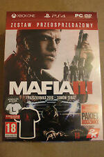 MAFIA III very limited Preorder Box Contains T-Shirt L Xbox One PS4 PC 4 NO GAME