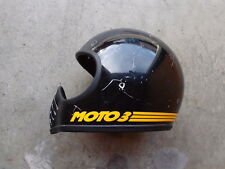 VTG 80s Bell Moto 3 Motorcycle BMX Full Face Helmet Dot Approved Made in USA 3 2
