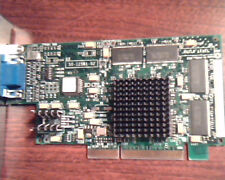 AGP card 3DLabs Parmedia3 Create! 50-125B1-02 PCB125B1 Rev B02 VGA