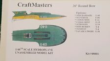 1/48th Scale Hydroplane Resin Model kit.