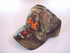 Camo hat Under Armour  Polyester Mossy Oak Treestand Snapback New Hunting