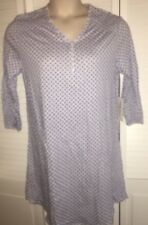 BOBBIE BROOKS Womans Size L 14-16 Cotton 3/4 Sleeve Nightgown Sleep Shirt NEW