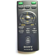 NEW SONY ORIGINAL RM-ANU192 REMOTE CONTROL HT-CT60BT SA-CT60BT SS-WCT60