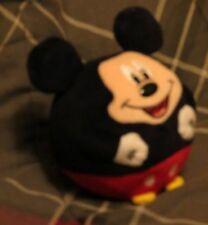 CLASSIC MICKEY MOUSE ROUND STUFFED ANIMAL