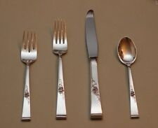 Classic Rose by Reed & Barton Sterling Silver Flatware Four Piece Place Settings