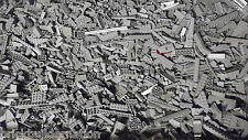 NEW 100+ LIGHT GREY GRAY LEGO PIECES FROM HUGE BULK LOT BRICKS PARTS@  RANDOM