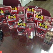 Six Million Dollar Man Figure Set of 7 Bif Bang Pow New in Boxes