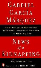 NEWS OF A KIDNAPPING- GABRIEL GARCIA MARQUEZ (PAPERBACK) Very Good
