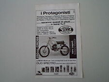 advertising Pubblicità 1976 MOTO VILLA 250 CROSS