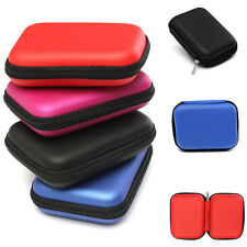 Carry Case Pouch Bag Box Fit 2.5'' USB External Hard Disk Drive HDD PC Laptop