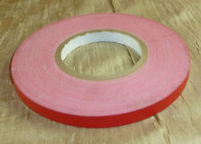 "1/2"" Red Spike Stage Show Cloth Gaff Gaffer Gaffers Tape 180' 60 yd Marking"