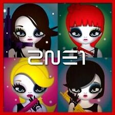 2NE1-2nd Mini Album CD + 21p Mari Kim Illust Booklet K-POP Sealed UGLY Lonely YG